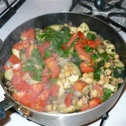 Garbanzo Stir Fry