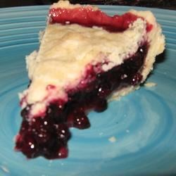 Auntie's Wild Huckleberry Pie Recipe
