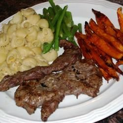 Grilled or Fried Skirt Steak Recipe