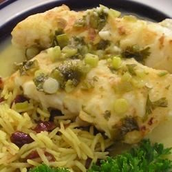 Orange Roughy with Citrus Sauce Recipe