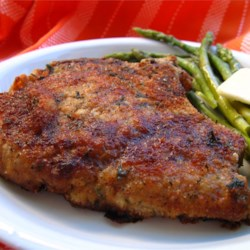 Pork recipes allrecipes italian breaded pork chops recipe and video pork chops are breaded with italian breadcrumbs and forumfinder Image collections