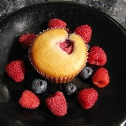 Rasberry Lemon Muffins