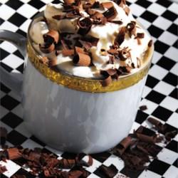 cafe latte milkshake printer friendly