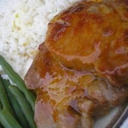 Photo of Apricot-Glazed Pork Chops by EV9/24/06