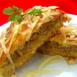 Delicious Stuffed Potato Pancakes   Recipe
