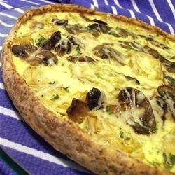 Image of Artichoke, Mushroom And Parma Ham Tart, AllRecipes