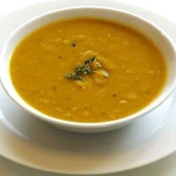 Delicata Creamy Squash Soup Recipe