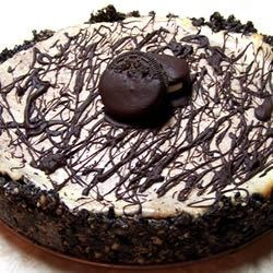 Chocolate Almond Marble Cheesecake Recipe
