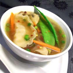 Quick Pot Sticker Soup Recipe