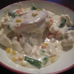 Creamed Chicken for Biscuits Recipe