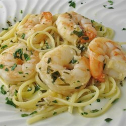Italian main dish recipes allrecipes shrimp scampi with pasta recipe and video shrimp are served with linguine pasta in a forumfinder Choice Image