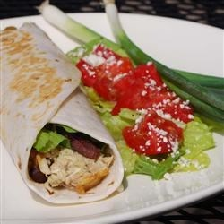Sandwiches and Wraps: Zingy Pesto Tuna Wrap