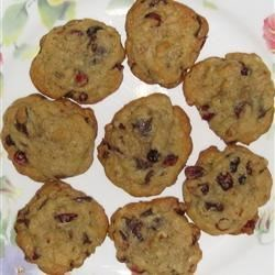 Very Cranberry Chocolate Chip Cookies Recipe