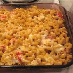 Four Cheese Macaroni Casserole Recipe