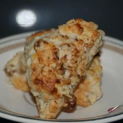 Walnut Raisin Scones Recipe