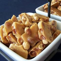 Microwave Oven Peanut Brittle Recipe