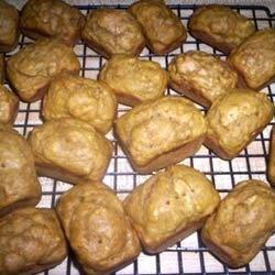 Banana Pumpkin Bread---Mini-Loaves