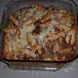 Baked Ziti (Meatlovers version)