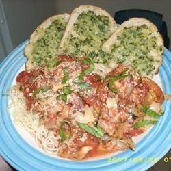 Pesto Artichoke Pasta & Pesto Cheese Bread
