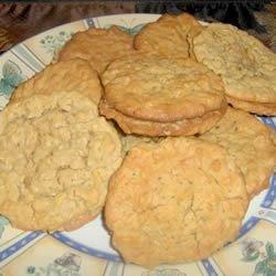 Oatmeal PB Cookies III