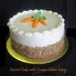 Carrot Cake with Cream Cheese II Icing