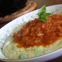 Photo of Soft Polenta with Spicy Tomato Sauce by Candice
