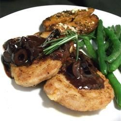 Kalamata Pork Tenderloin with Rosemary Recipe