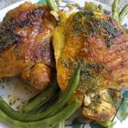 Chicken with Lime Butter Recipe
