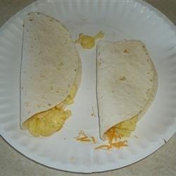 Egg & Cheese taco's
