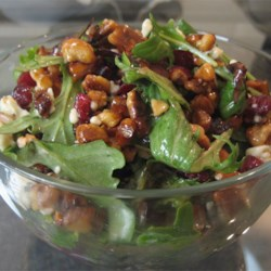 Missy's Candied Walnut Gorgonzola Salad Recipe