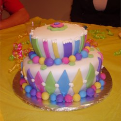 Jayci's 1st Birthday Cake