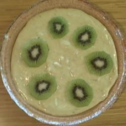 Avacoda Lime Pie Garnished with Kiwi
