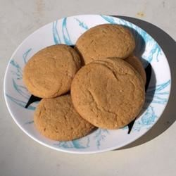 Quick and Easy Big Soft Ginger Cookies