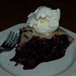 My first blackberry pie