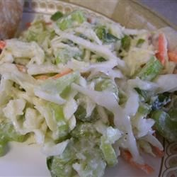 Original Blue Cheese Coleslaw Recipe