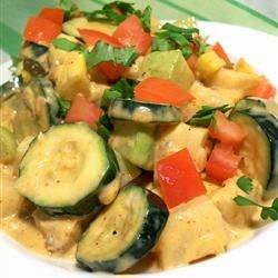 Mexican Veggies with Queso