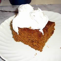 Moist Spice Cake--Gingerbread Version