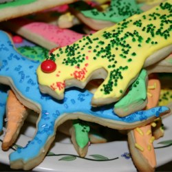 Dinosaur Sugar Cookies