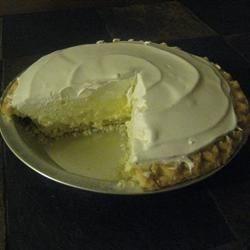lemon chiffon pie photos