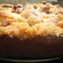Warm Apple Cinnamon Cobbler |