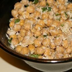 Photo of Chickpea Coconut Salad by vburrito