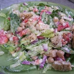 Photo of Tempeh and Blue Cheese Salad by La Panadera
