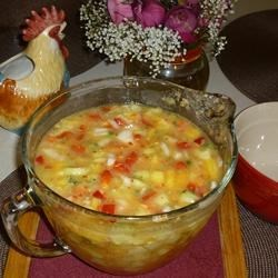 Photo of Pineapple Gazpacho by USA WEEKEND columnist Pam Anderson