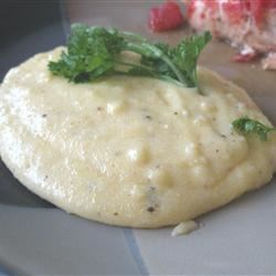 Cheesy Polenta Recipe