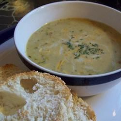 Vegetable Cheese Soup I Recipe