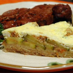 Bread Crust Zucchini Quiche Recipe