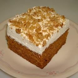 Photo of Carrot Cake Bars by Linda