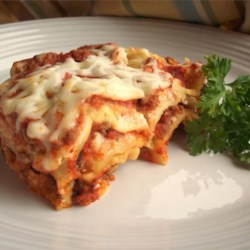 Simply Traditional Lasagna |