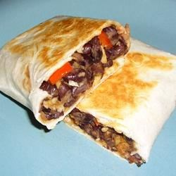 Black Bean and Artichoke Burritos |
