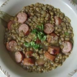 Sausage and Lentils Recipe